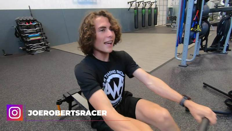 Joe Roberts update and workout at The W